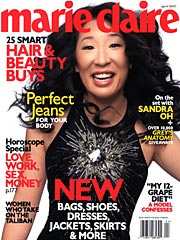 sandra oh cover girl